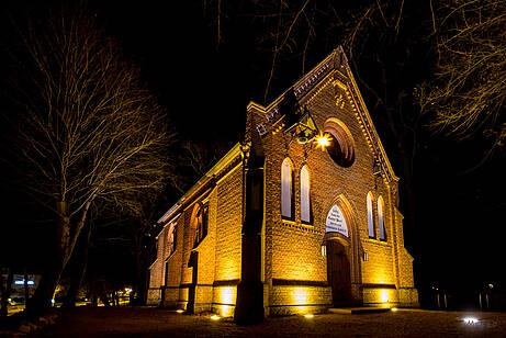 Kirche Boltenhagen bei Nacht