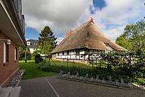 Seitenansicht der Villa Sonnengarten in Boltenhagen