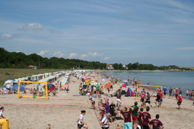 Beach Cup, Volleyball am Strand im Ostseebad Boltenhagen