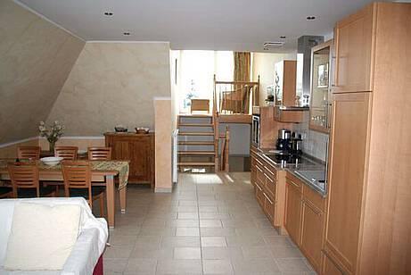 Küche Ferienwohnung 10 Villa Wagenknecht