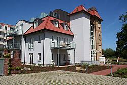 Rückseite Villa Wagenknecht in Boltenhagen