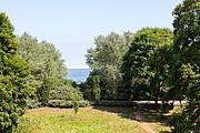 Ausblick der Ferienwohnung 13 in der Villa Wagenknecht
