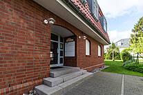 Eingangstür der Villa Sonnengarten in Boltenhagen