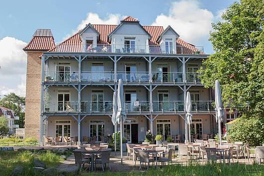 Ferienwohnunen in der Villa Wagenknecht im Ostseebad Boltenhagen