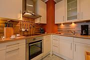 Küche der Ferienwohnung 13 in der Villa Wagenknecht